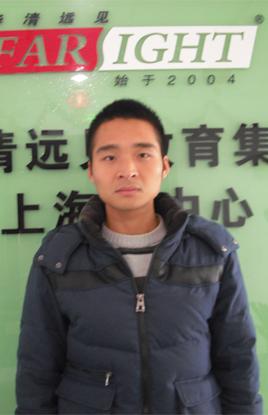 上海嵌入式培训学员朱超